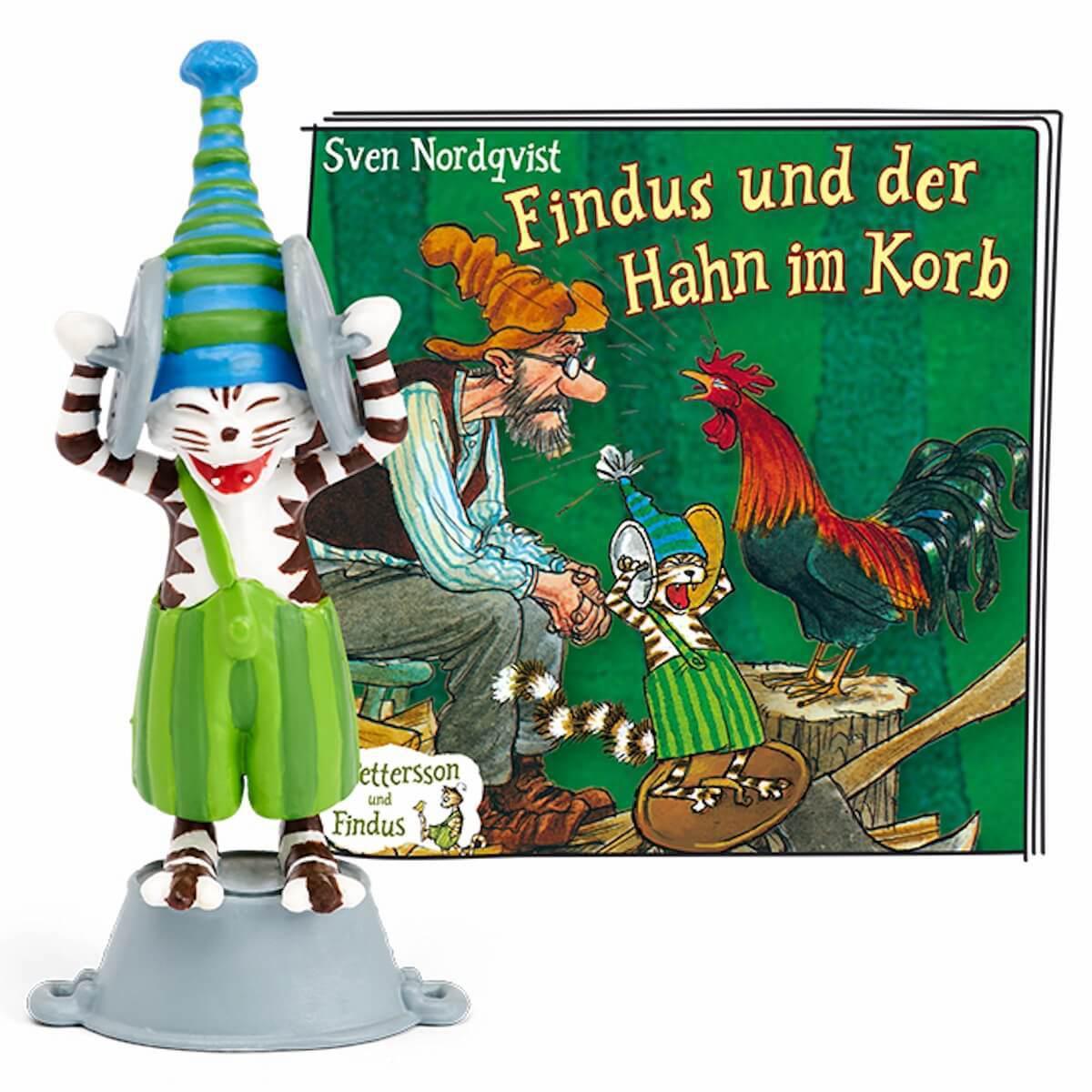 Hörspielfigur TONIES Petterson und Findus – Findus und der Hahn im Korb