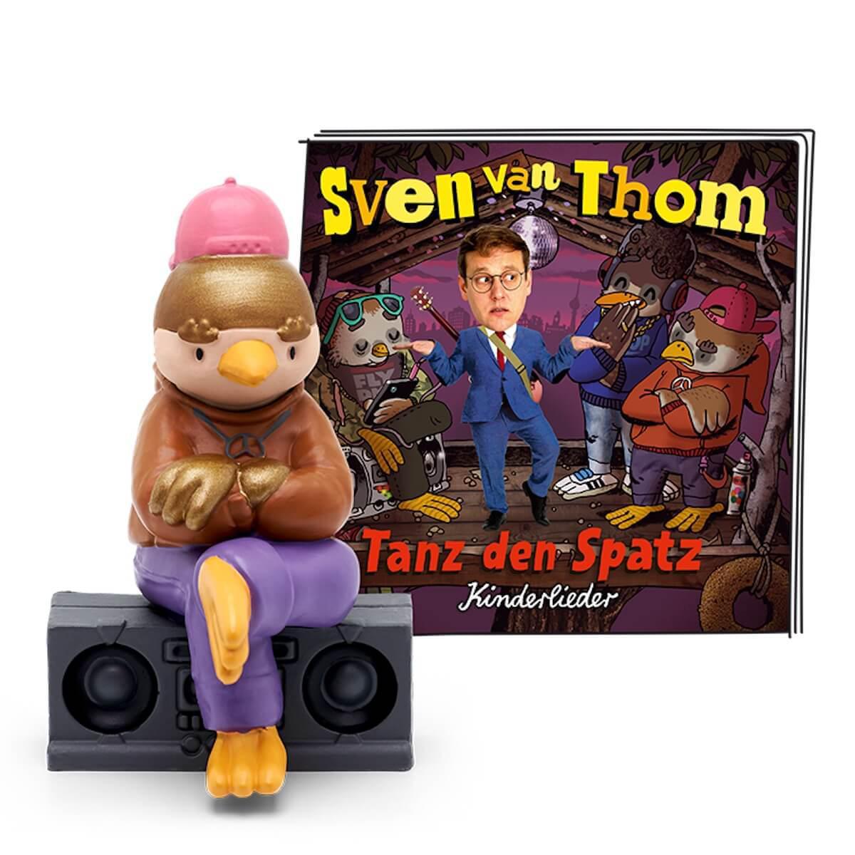 Hörspielfigur TONIES Sven van Thom Tanz den Spatz