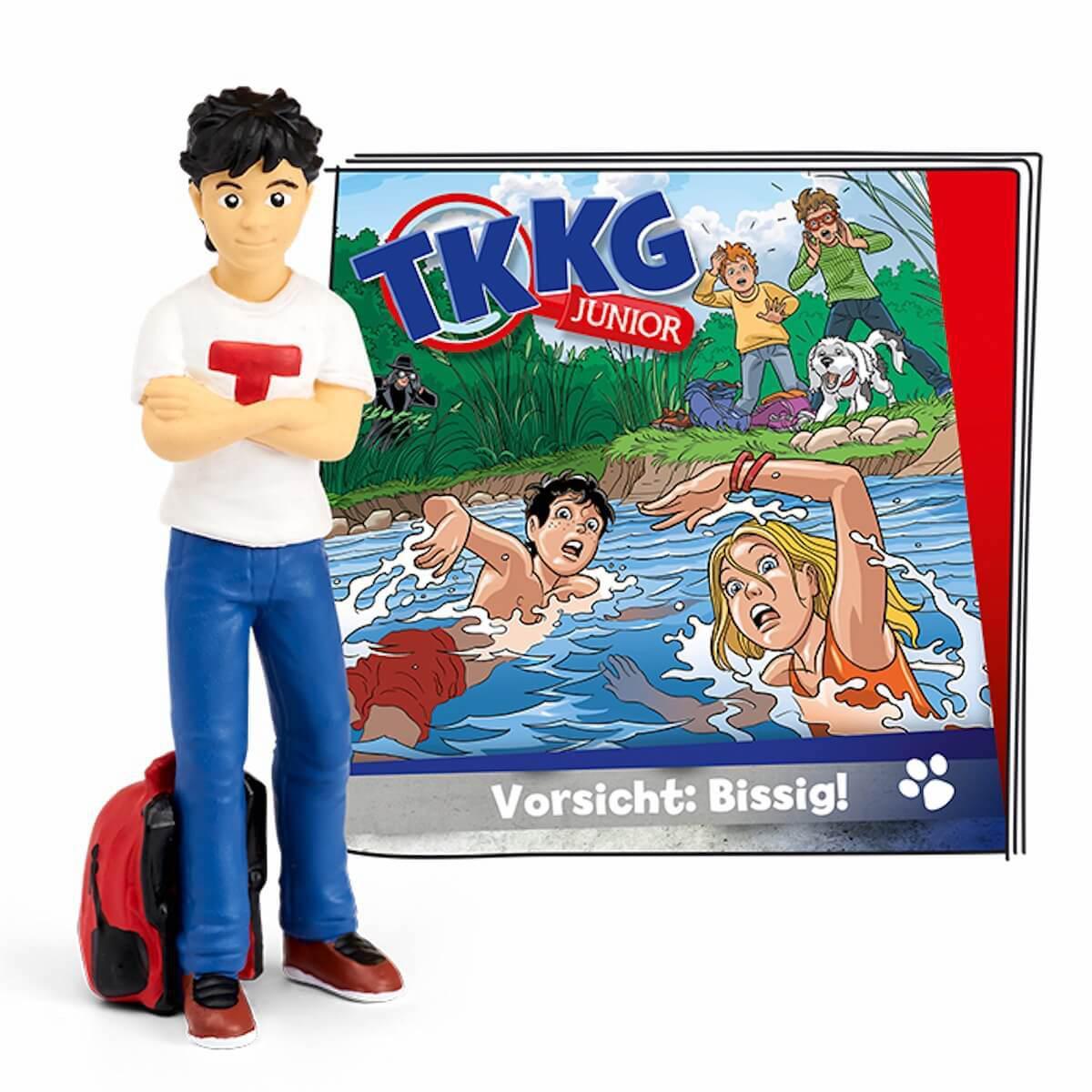 Hörspielfigur TONIES TKKG Junior Folge 2 Vorsicht: Bissig!