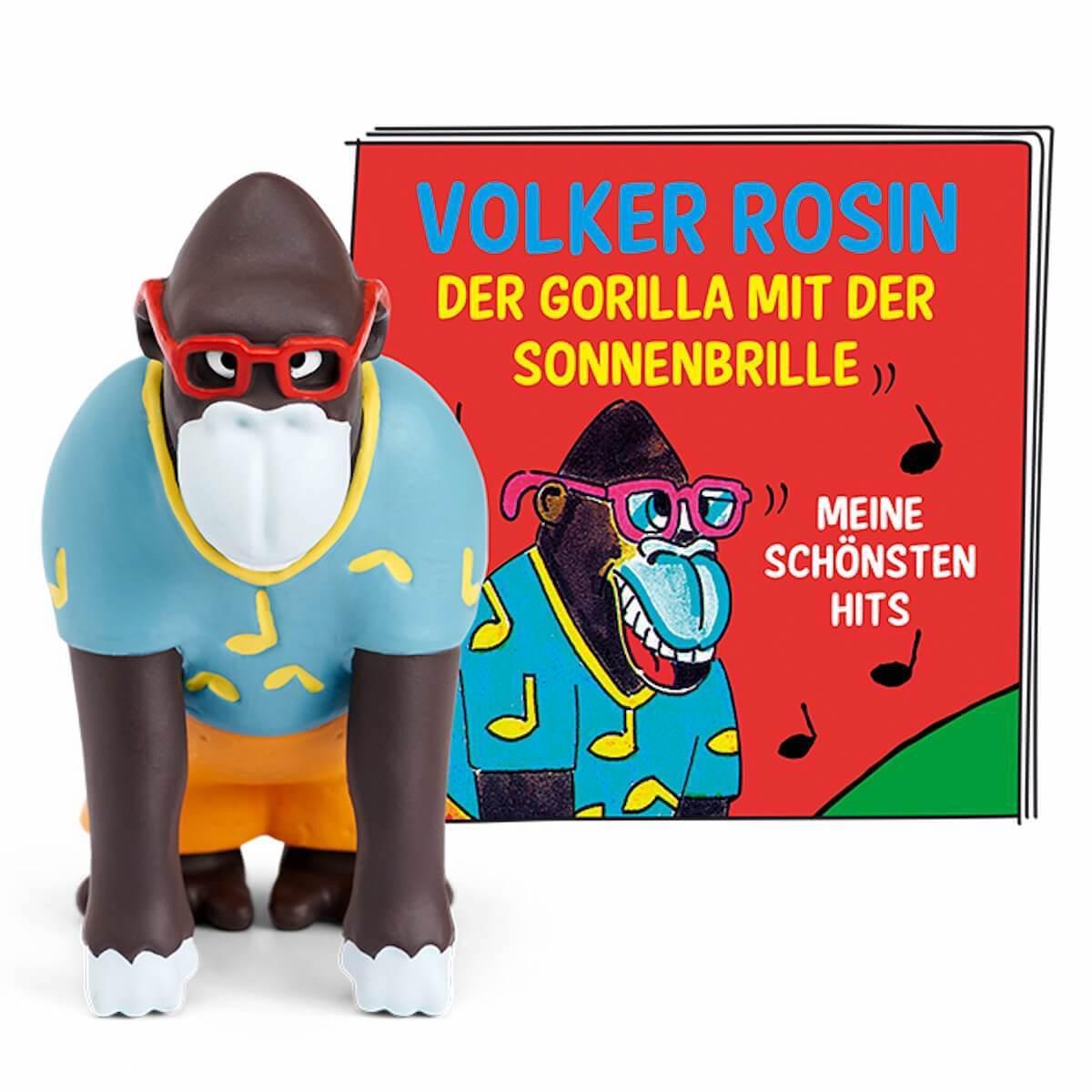 Hörspielfigur TONIES Volker Rosin Der Gorilla mit der Sonnenbrille