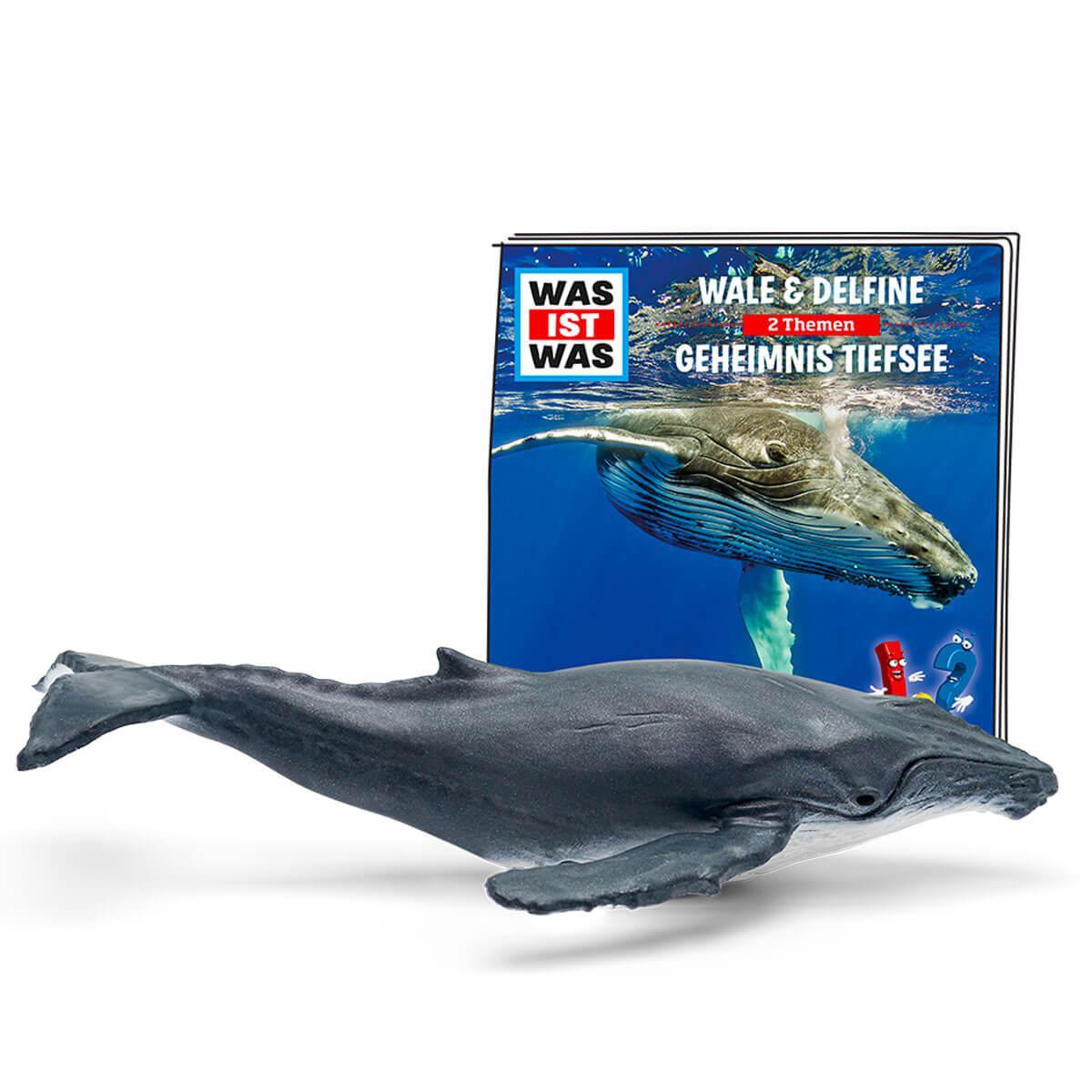 Hörspielfigur TONIES Was ist Was Wale und Delfine / Geheimnisse Tiefsee