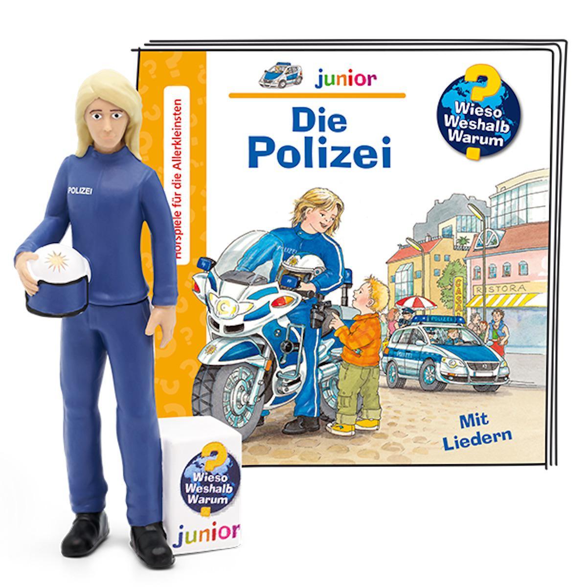 Hörspielfigur Wieso Weshalb Warum- www Junior Polizei