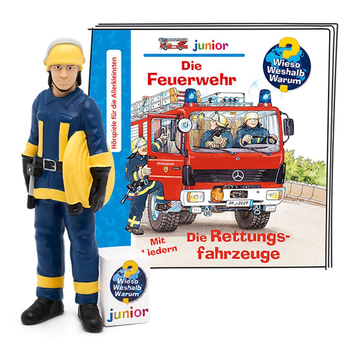 Hörspielfigur WWW junior-Feuerwehr/Rettungsfahr