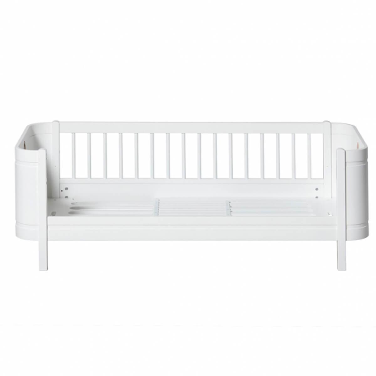 Juniorbett 68x162cm MINI+ Oliver Furniture Weiß
