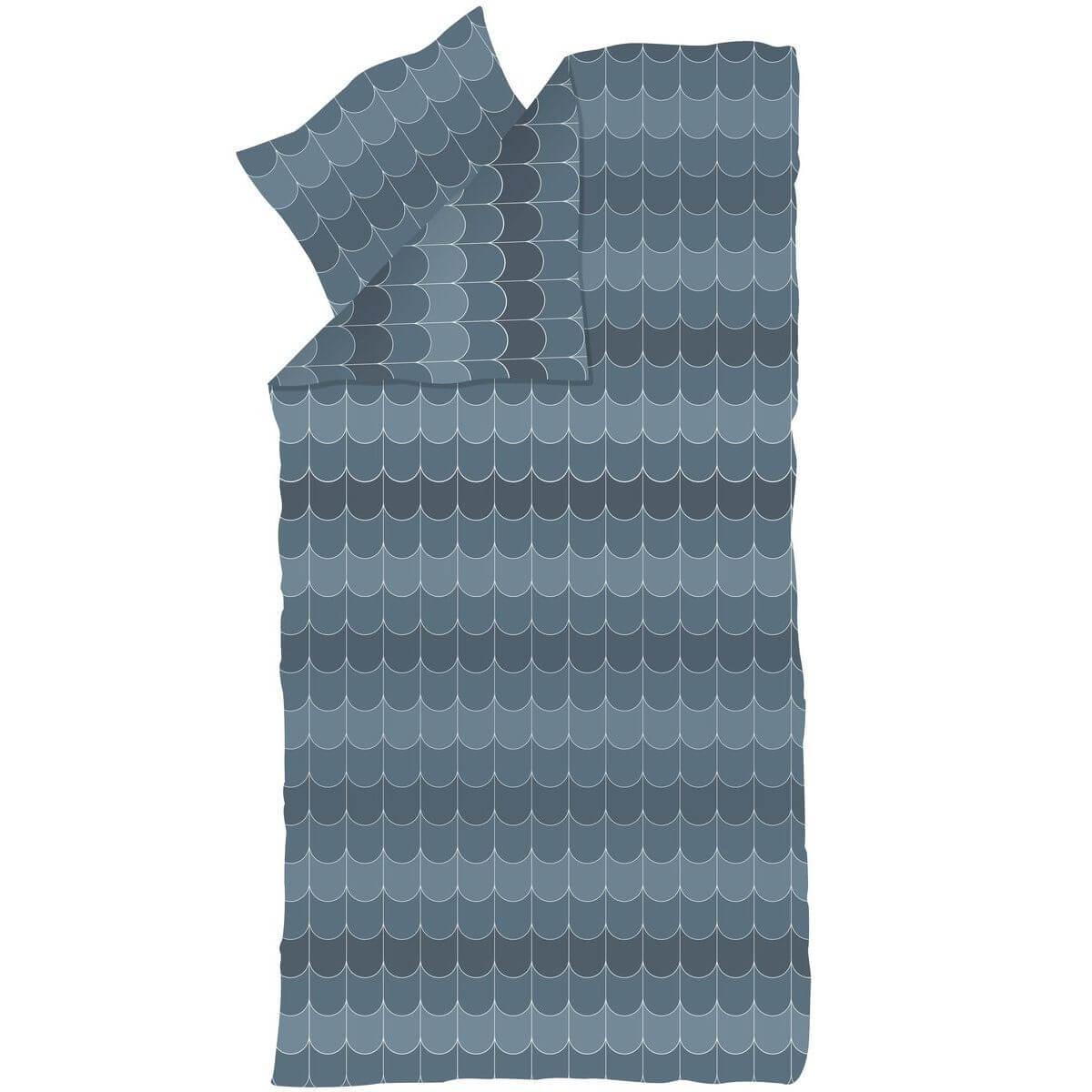 Kinder-Bettwäsche 140x200cm-Kissenbezug 50x70cm POPSICLE Flexa blueberry