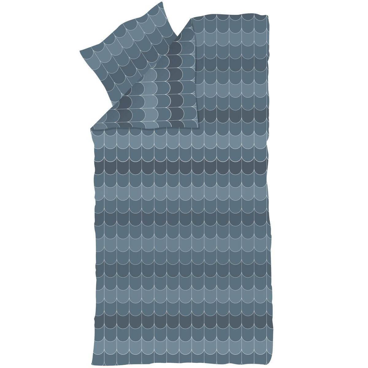 Kinder-Bettwäsche 140x200cm-Kissenbezug 60x63cm POPSICLE Flexa blueberry