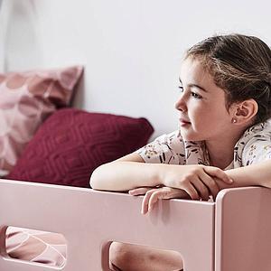 Kinder-Bettwäsche 140x200cm-Kissenbezug 60x63cm POPSICLE Flexa cherry