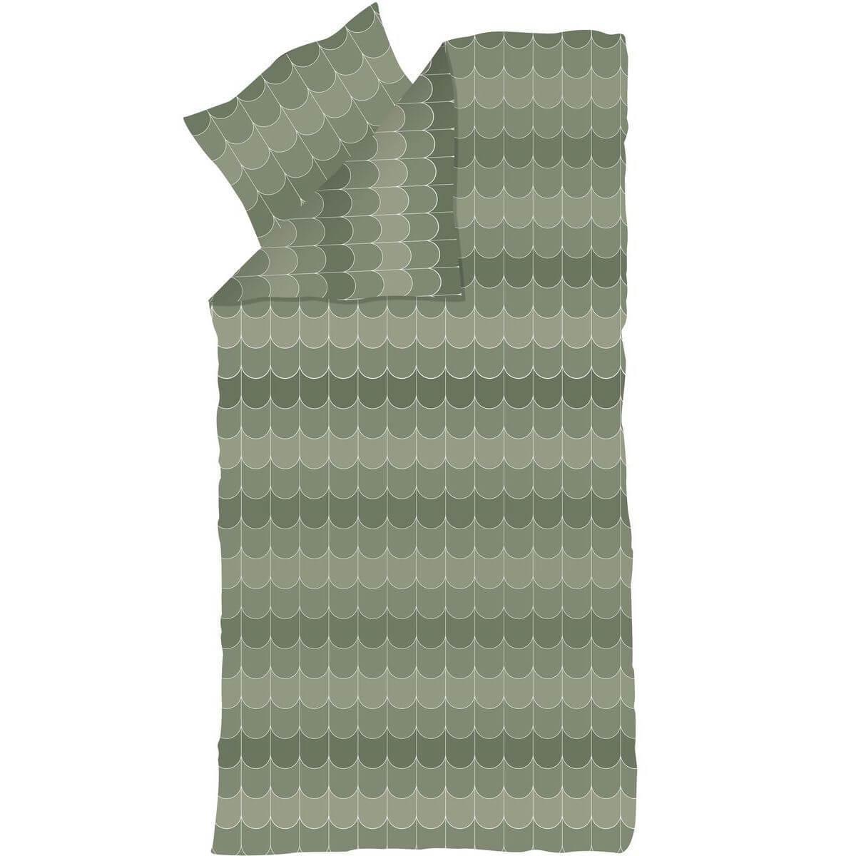 Kinder-Bettwäsche 140x200cm-Kissenbezug 60x63cm POPSICLE Flexa kiwi