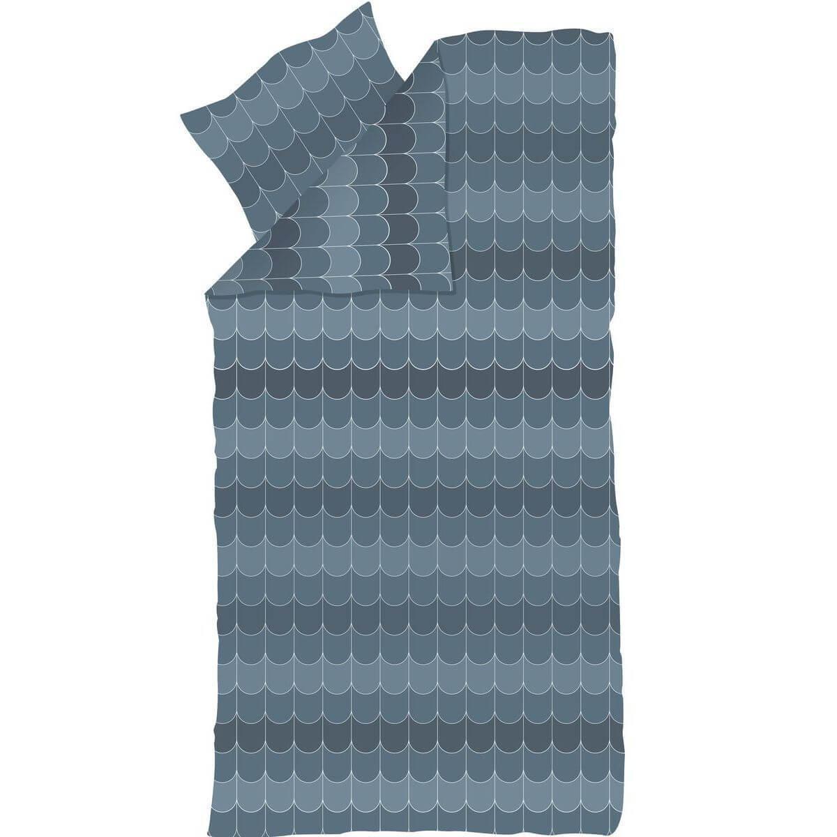 Kinder-Bettwäsche 140x200cm-Kissenbezug 80x80cm POPSICLE Flexa blueberry