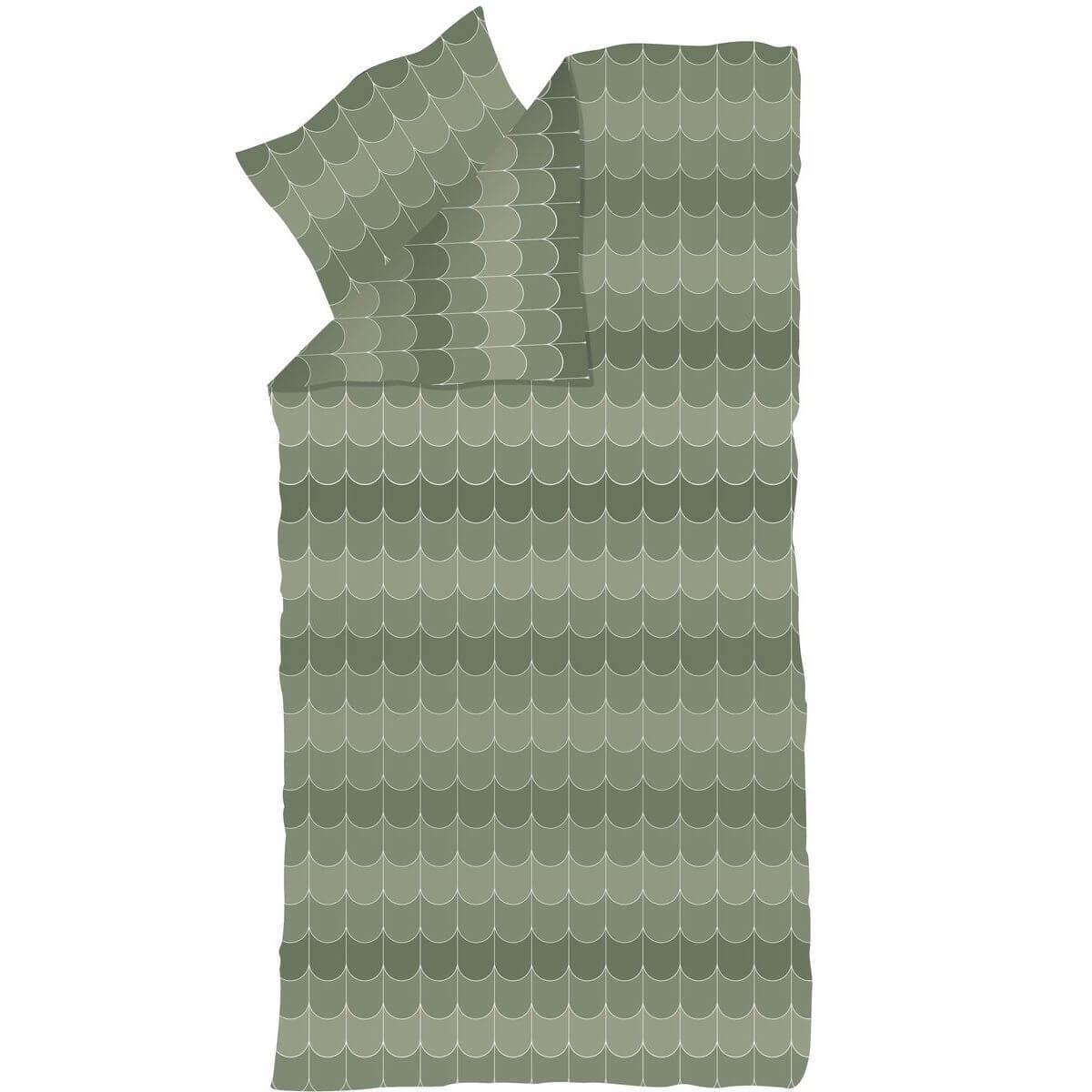 Kinder-Bettwäsche 140x200cm-Kissenbezug 80x80cm POPSICLE Flexa kiwi