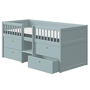 Kinderbett 200x90cm FREJA Flexa blue-ish