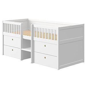 Kinderbett 200x90cm FREJA Flexa weiß