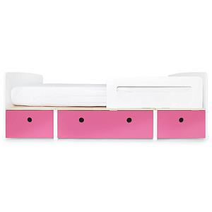 Kinderbett 90x200cm COLORFLEX Abitare Kids pink