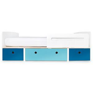 Kinderbett 90x200cm COLORFLEX deep marine-paradise blue-deep marine