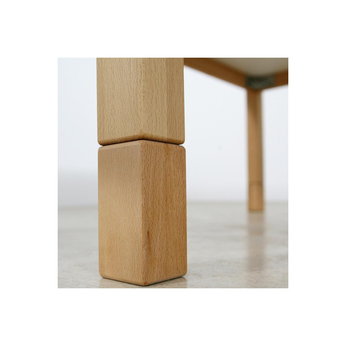 Kindertisch DETAIL Debreuyn 60x90cm Buche massiv-natur geölt