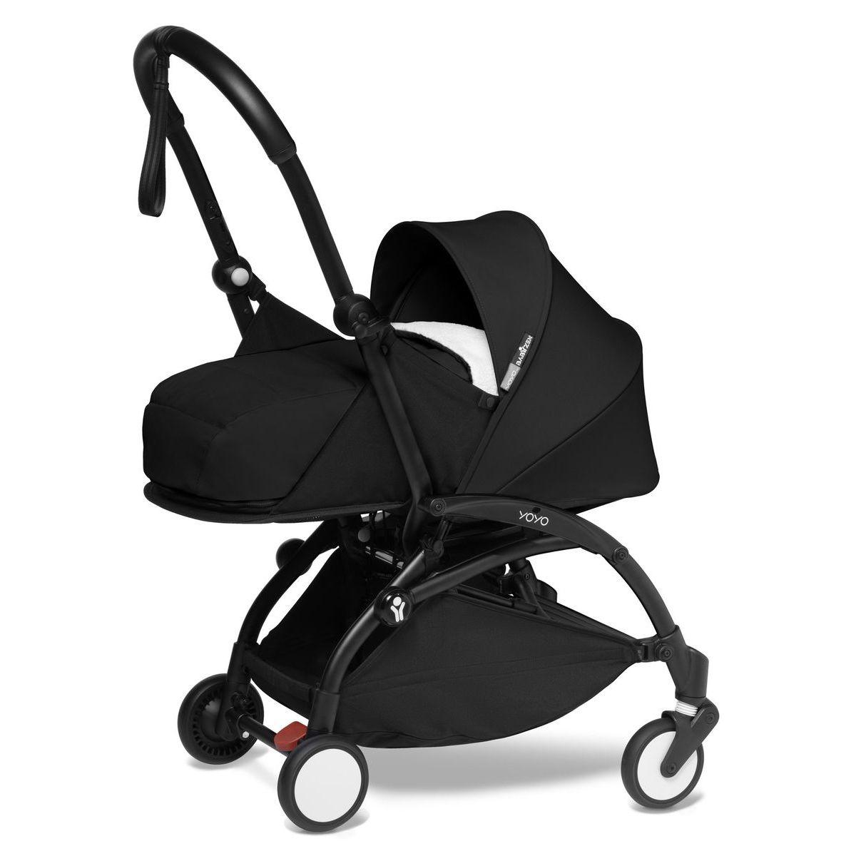 Kinderwagen BABYZEN YOYO² 0+ schwarz-schwarz
