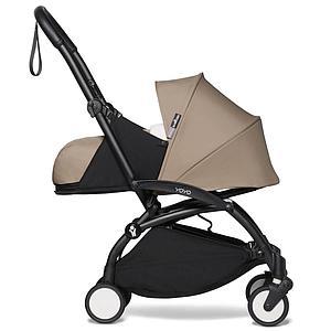 Kinderwagen BABYZEN YOYO² 0+ Schwarz-taupe