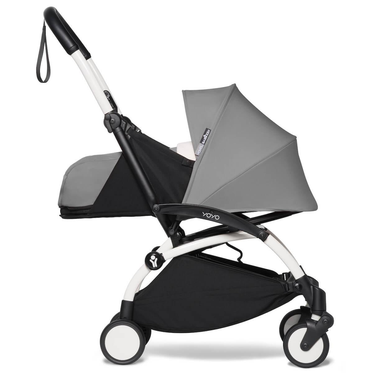 Kinderwagen BABYZEN YOYO² 0+ Weiß-grau