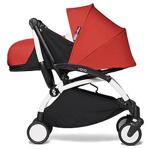 Kinderwagen BABYZEN YOYO² 0+ Weiß-rot