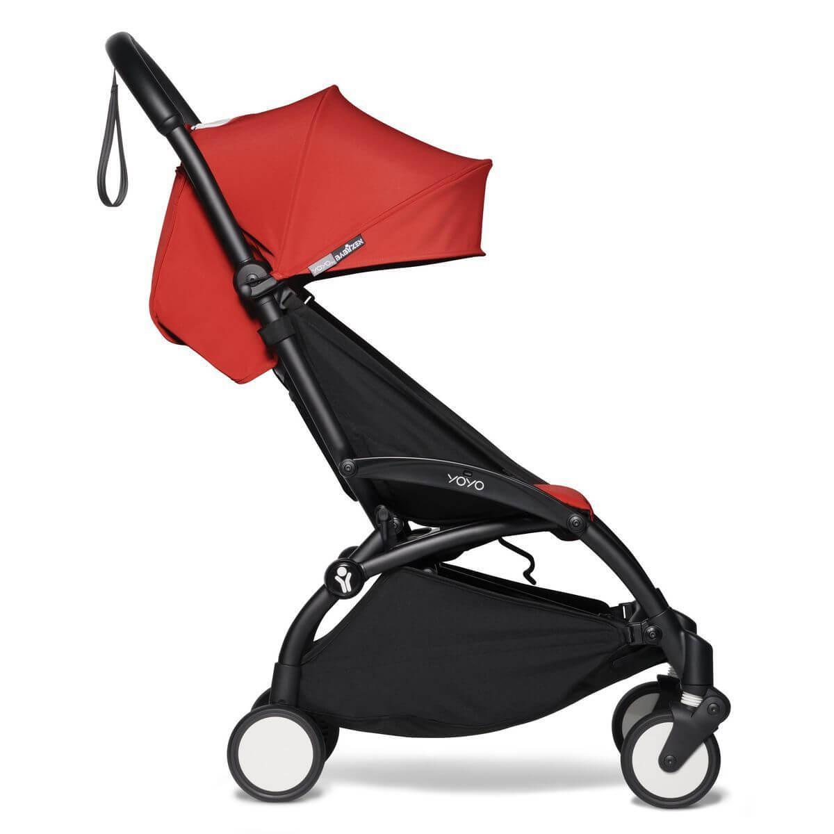 Kinderwagen BABYZEN YOYO² 6+ schwarz-rot