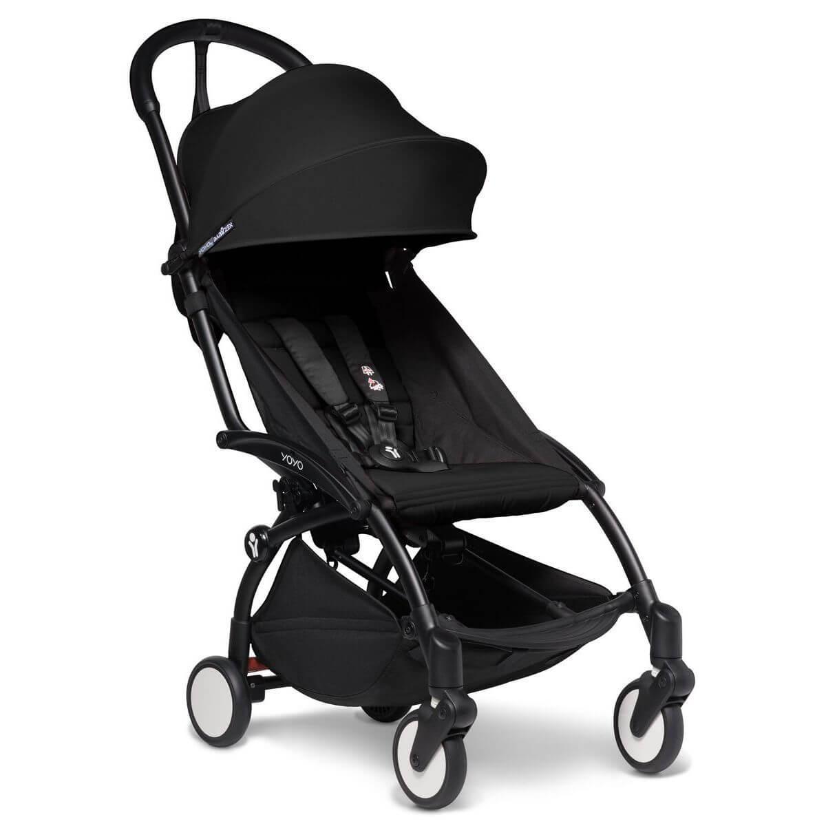 Kinderwagen BABYZEN YOYO² 6+ schwarz-schwarz