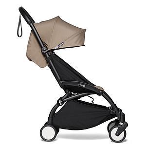 Kinderwagen BABYZEN YOYO² 6+ schwarz-taupe