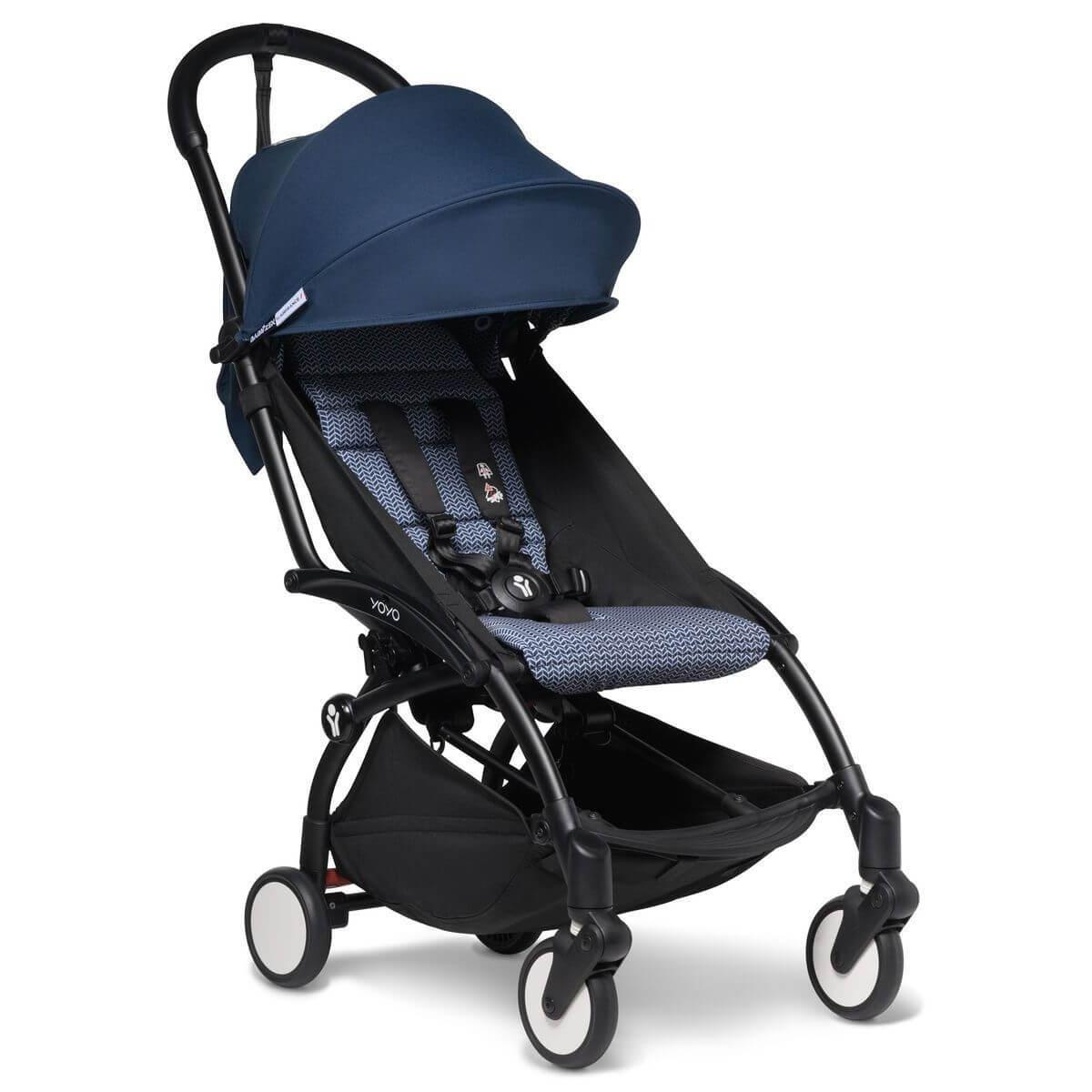 Kinderwagen BABYZEN YOYO²  all-in-one Wanne/Autositz/6+ schwartz-Air France