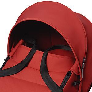 Kinderwagen BABYZEN YOYO²  all-in-one Wanne/Autositz/6+ weiß-rot