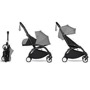 Kinderwagen BABYZEN YOYO² komplett 0+ et 6+ Schwarz-grau