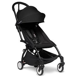 Kinderwagen BABYZEN YOYO² komplett 0+/6+ und Wanne schwarz-schwarz