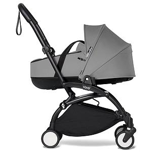 Kinderwagen BABYZEN YOYO² komplett Wanne und 6+ Schwarz-grau
