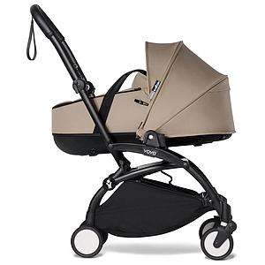 Kinderwagen BABYZEN YOYO² komplett Wanne und 6+ Schwarz-taupe
