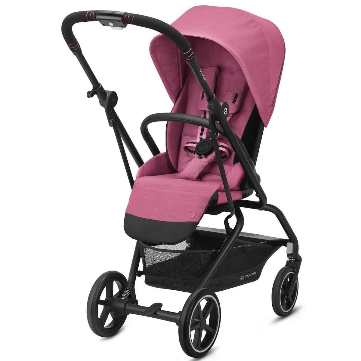 Kinderwagen EEZY S TWIST+ 2 Cybex black Magnolia Pink