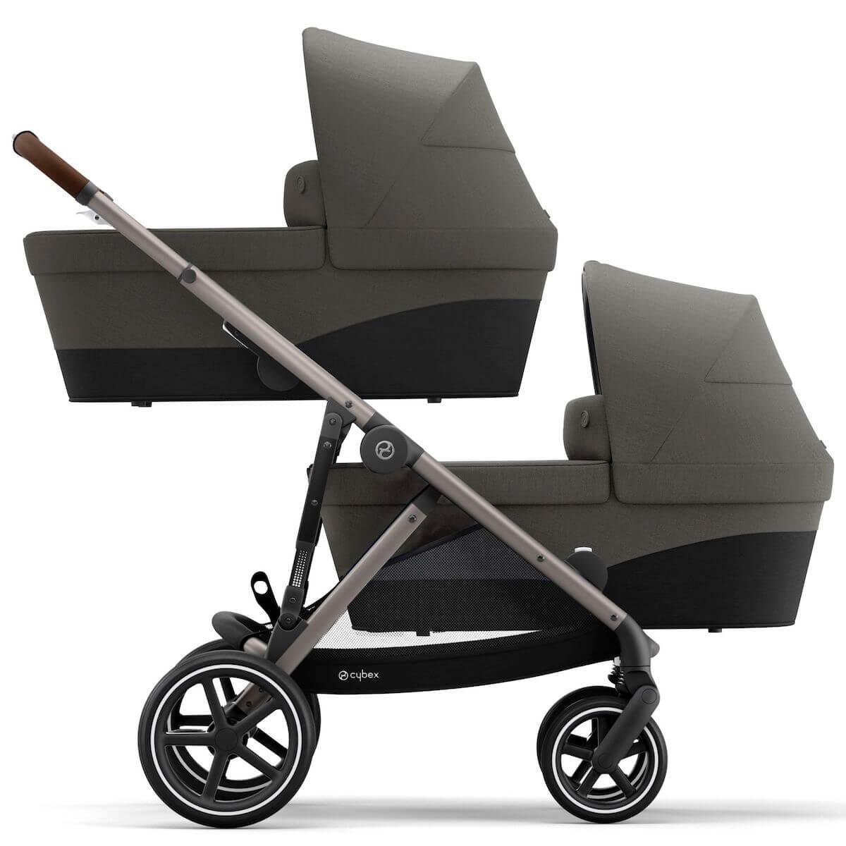 Kinderwagen GAZELLE S TPE Cybex Soho grey-mid grey
