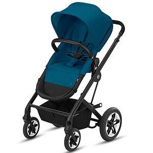 Kinderwagen TALOS S 2in1 BLK Cybex River blue-turquoise