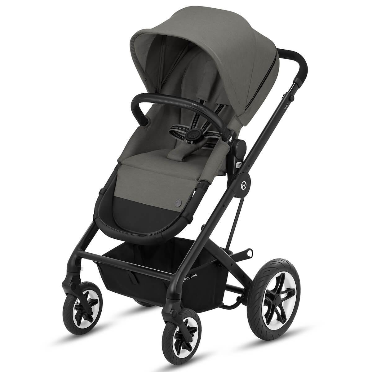 Kinderwagen TALOS S 2in1 BLK Cybex Soho grey-mid grey