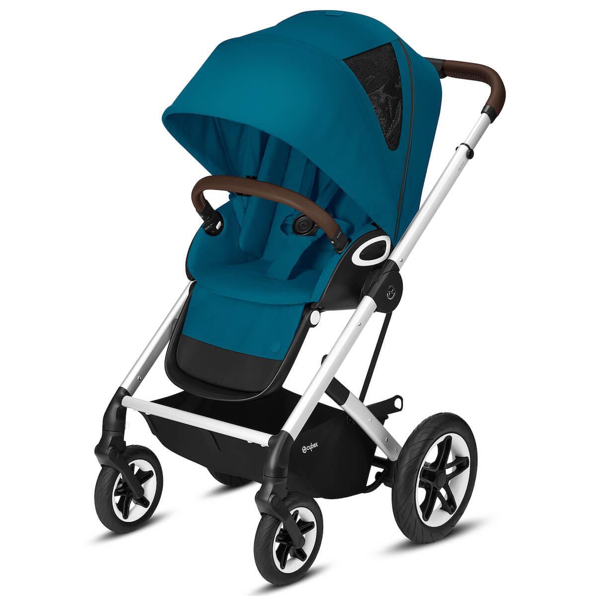 Kinderwagen TALOS S LUX SLV Cybex River blue-turquoise