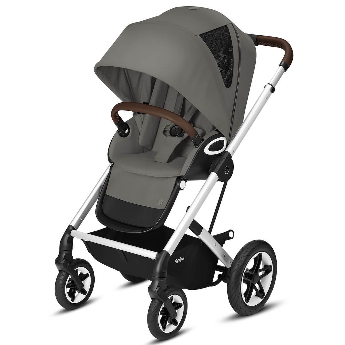 Kinderwagen TALOS S LUX SLV Cybex Soho grey-mid grey