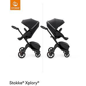 Kinderwagen XPLORY X Stokke Rich Black