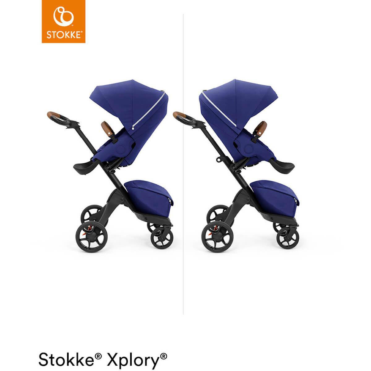 Kinderwagen XPLORY X Stokke Royal Blue
