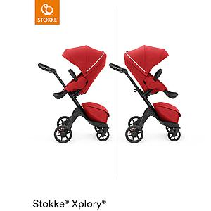 Kinderwagen XPLORY X Stokke Ruby Red