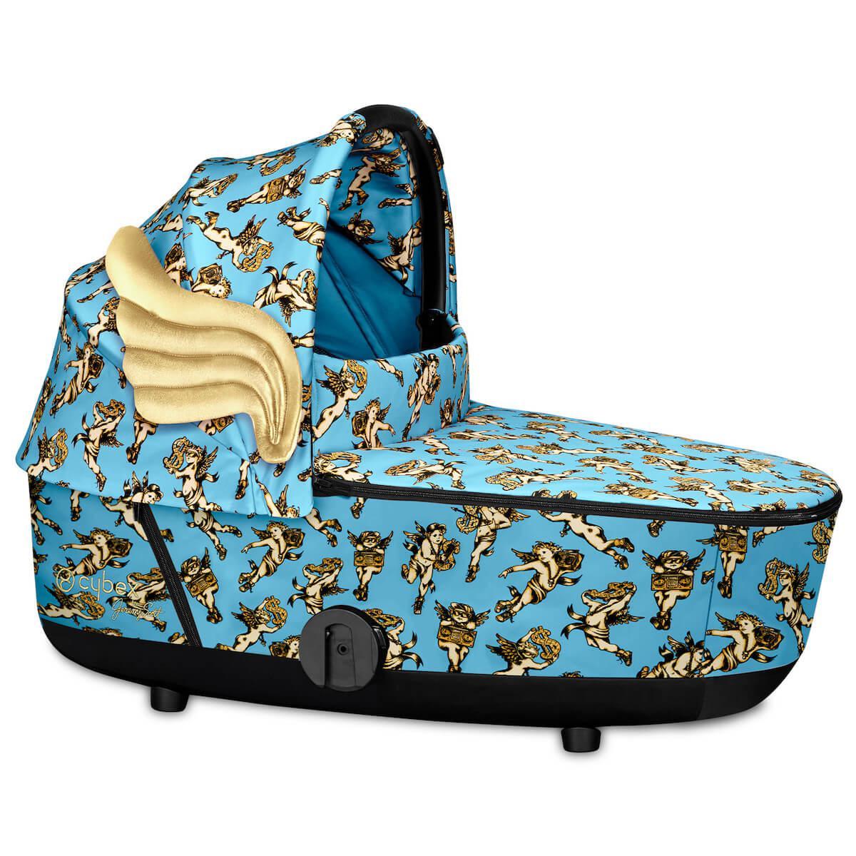 Kinderwagenaufsatz Lux MIOS Cybex Cherub Blue