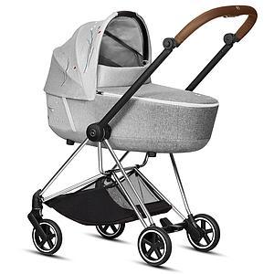 Kinderwagenaufsatz Lux MIOS Cybex Koi-mid grey