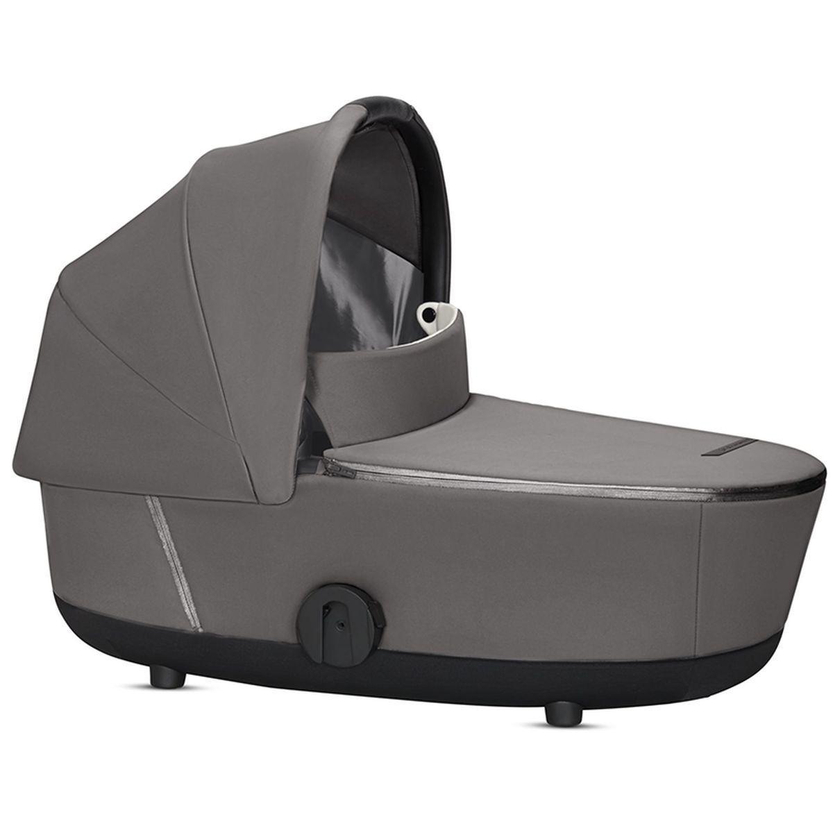 Kinderwagenaufsatz Lux MIOS Cybex Manhattan Grey