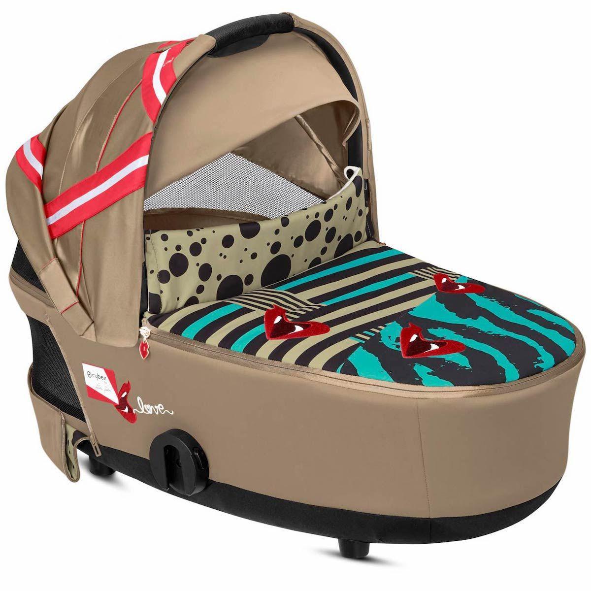 Kinderwagenaufsatz Lux MIOS Cybex One Love-multicolor