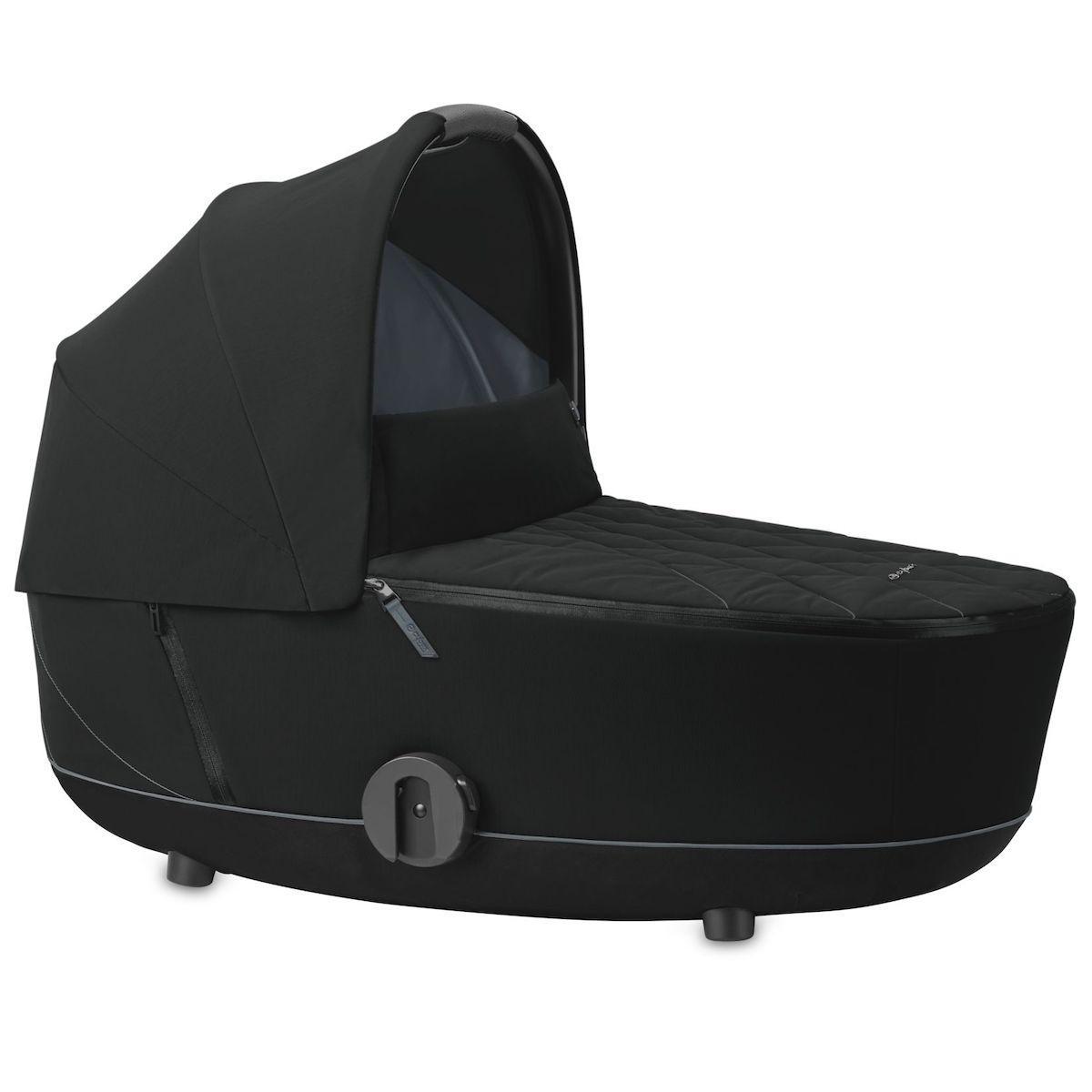 Kinderwagenaufsatz luxe MIOS Cybex Deep Black
