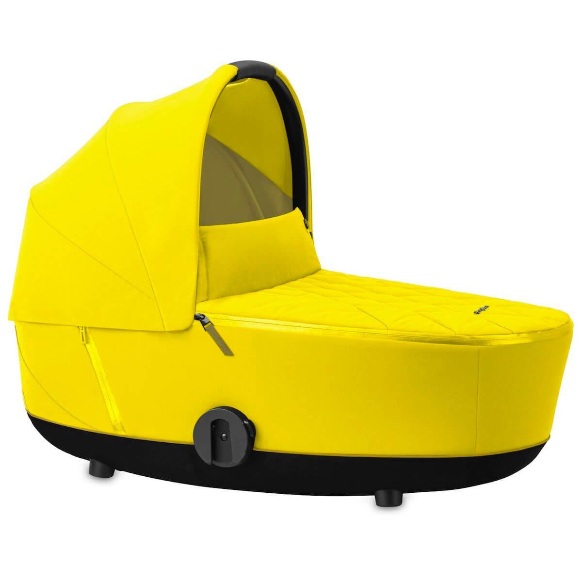 Kinderwagenaufsatz luxe MIOS Cybex Mustard Yellow