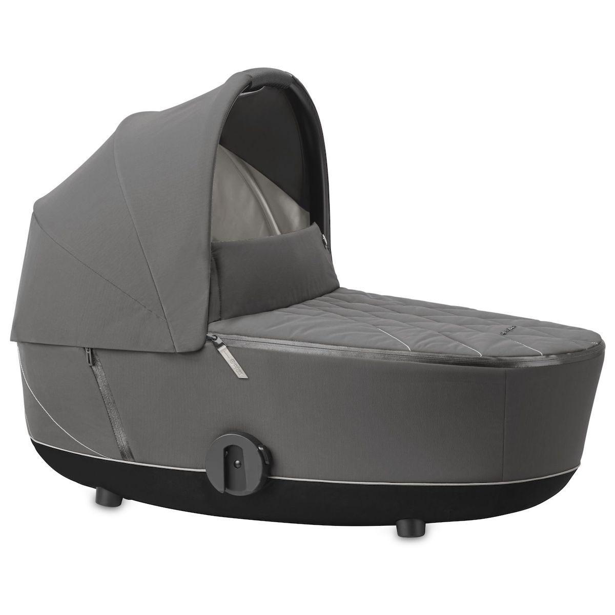 Kinderwagenaufsatz luxe MIOS Cybex Soho Grey