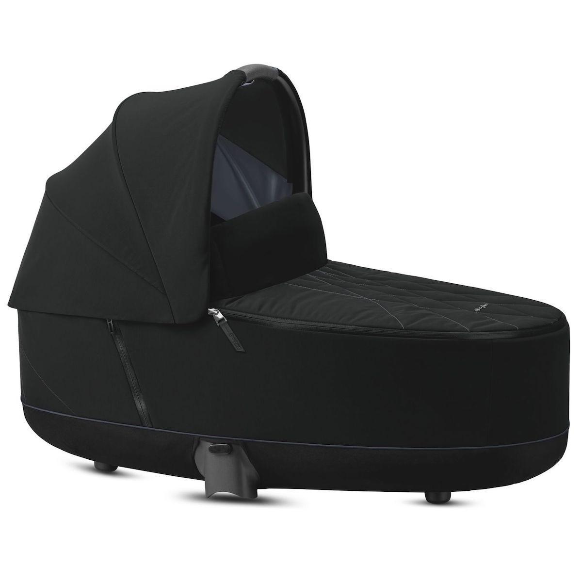 Kinderwagenaufsatz luxe PRIAM Cybex Deep Black