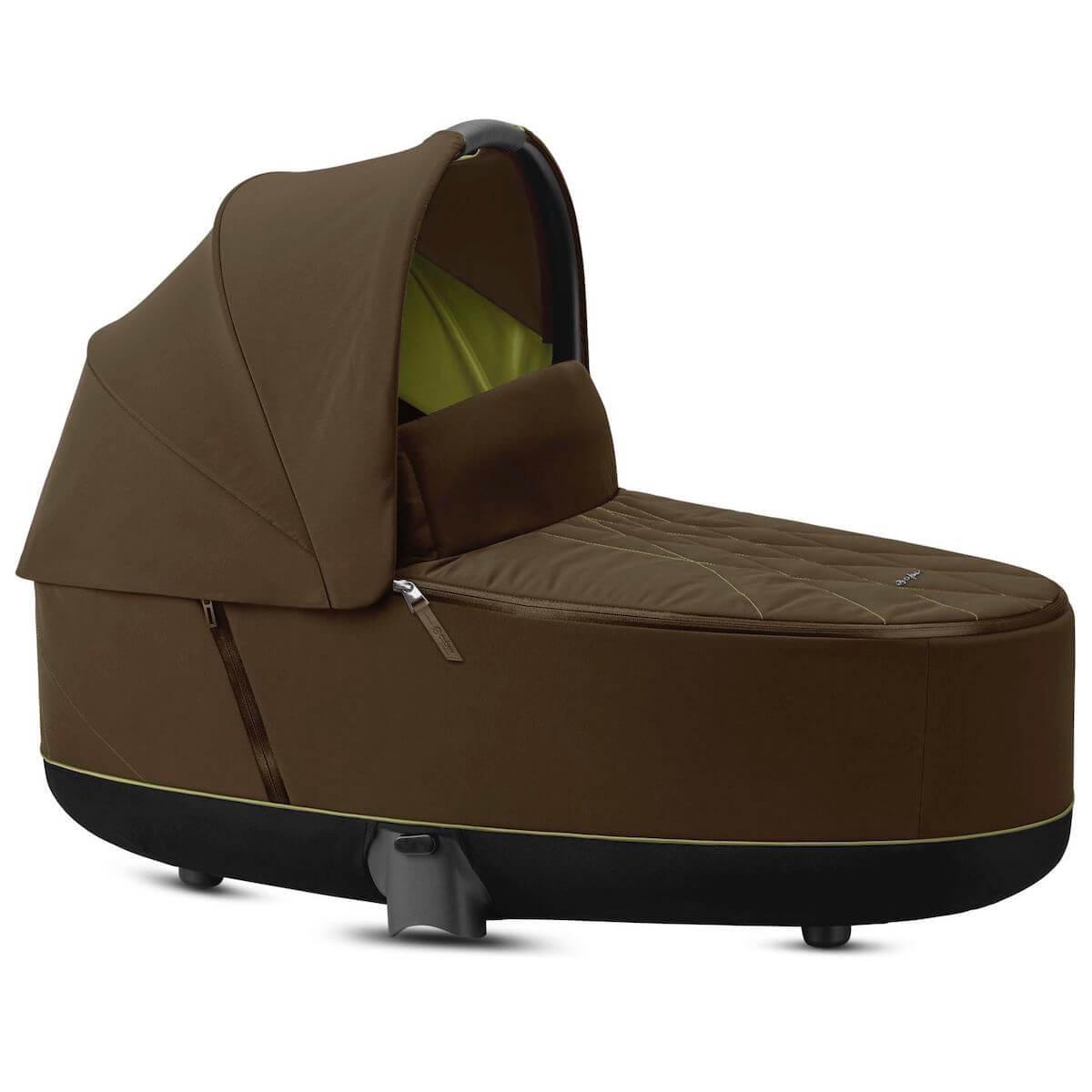 Kinderwagenaufsatz luxe PRIAM Cybex Khaki Green